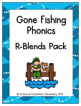 Gone Fishing Phonics: R-Blends Pack