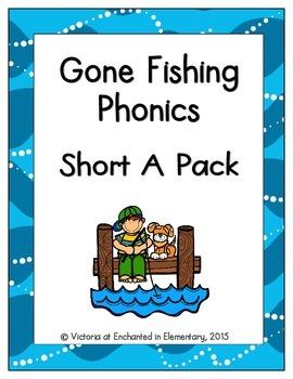 Gone Fishing Phonics: Short A Pack