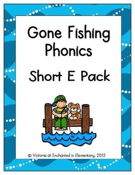 Gone Fishing Phonics: Short E Pack