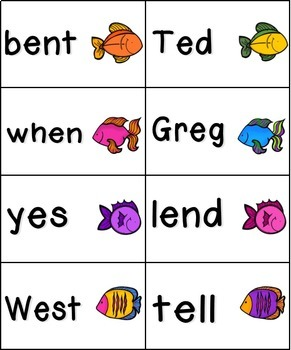 Gone Fishing Phonics: Short Vowel Bundle