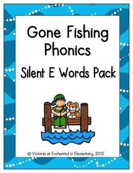 Gone Fishing Phonics: Silent E Words Pack