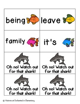 Gone Fishing Sight Words! Fry List 3