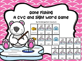 Gone Fishing -Word Game