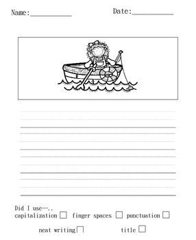 Gone Fishing Writing Set