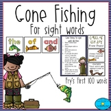 Gone Fishing for Sight Words Game *Fry's First 100 Words*
