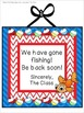 Gone Fishing with Contractions Center Game
