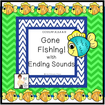 Gone Fishing with Ending Sounds Center Game