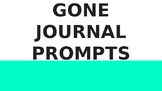 Gone by Michael Grant Journal Prompts