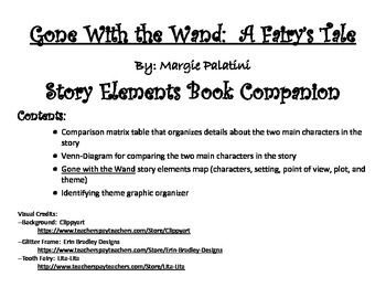 Gone with the Wand:  A Fairy's Tale Story Elements Companion Pack