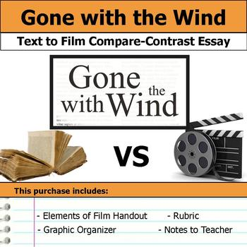 Gone with the Wind - Text to Film Essay Bundle
