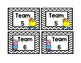 Gonoodle monster themed team signs