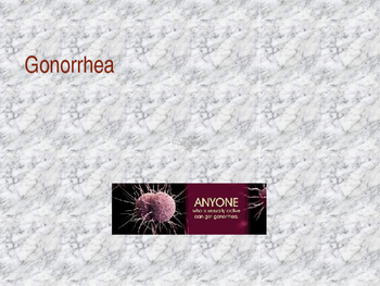Gonorrhea Powerpoint