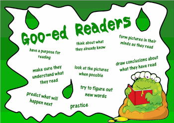 Goo-ed Readers Reading Skills poster