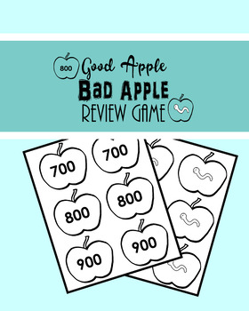 Good Apple Bad Apple Review Game