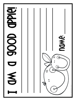 Good Apples Bulletin Board Set- Editable