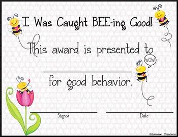 Good BEE-havior Award