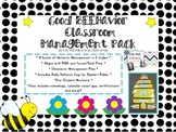 Good BEEhavior Classroom Managment Pack; Bee themed classr