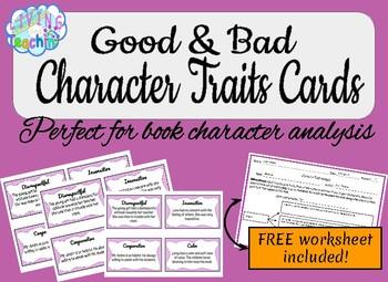 Good & Bad Character Traits