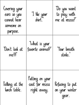 Good & Bad Manners Sort (Great for Special Education)