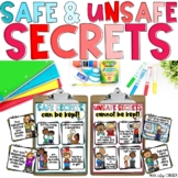 SAFE & UNSAFE SECRETS Child Abuse Prevention & Erin's Law Scenario Sorting Game!