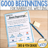 Good Beginnings Narrative Writing Mini-lessons Unit