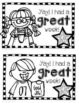 Good Behavior Certificates