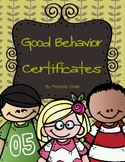 Good Behavior Certificates