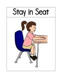 Good Behavior Classroom Signs