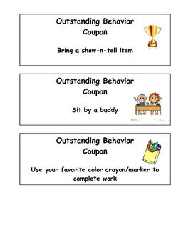 Good Behavior Coupons