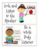 Good Behavior Examples