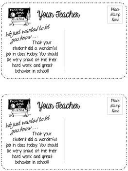 Good Behavior Postcards