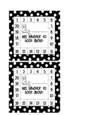 Good Behavior Punch Card - Owl