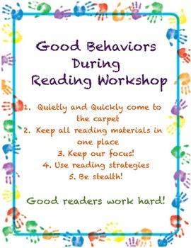 Good Behavior in Reading