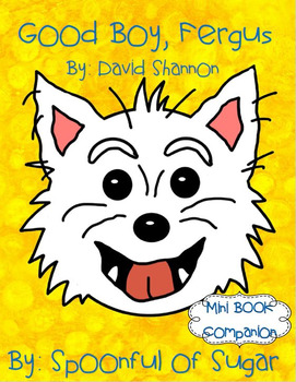 Good Boy, Fergus! (Book Companion)