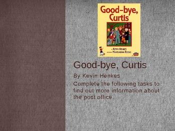 Good-Bye, Curtis Web Quest