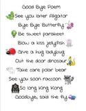 Good Bye Poem