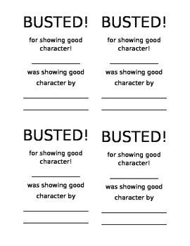 Good Character Award