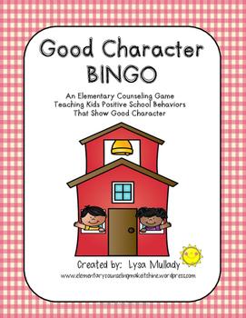 Good Character Bingo
