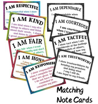 Good Character Certificates Pack {Fillable}