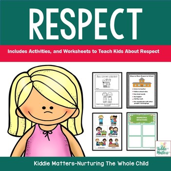 Respect Worksheet Teaching Resources Teachers Pay Teachers