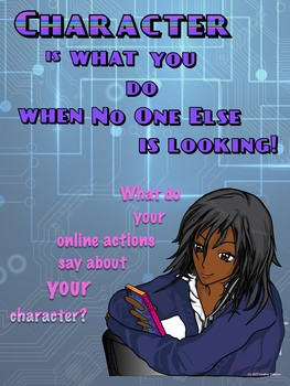 Good Character Technology Poster