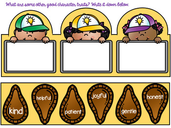 Good Character Traits Freebie!