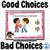 Good Choice Bad Choice Behavior Boom Cards™ | Making Good Choices
