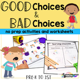 Good Choice Bad Choice No Prep