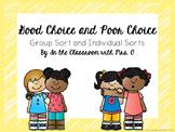 Good Choice and Bad Choice Sort