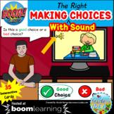 Good Choice Bad Choice BOOM™ Cards with SOUND