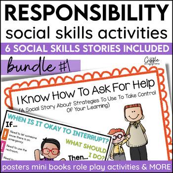 Good Choices Classroom Social Story Bundle
