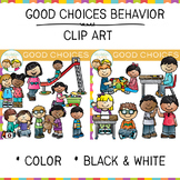Good Choices Behavior Clip Art