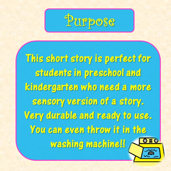 Good Choices Social Story for Pre-K Quilted Soft Book