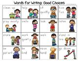 Good Choices Word List - Writing Center